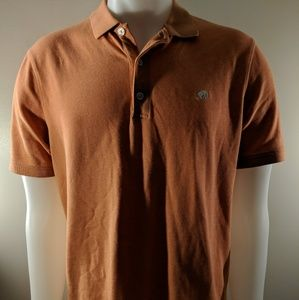 L banana republic orange Polo